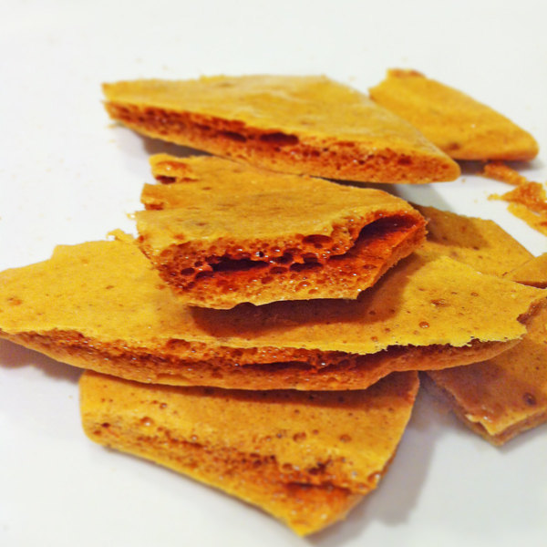 Sample Honeycomb Candy Organic Vegan 1oz Gluten Free Gourmet Kosher